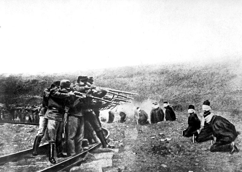 стрељање Срба