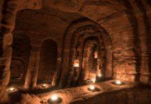 темплатска пећина у енглеској