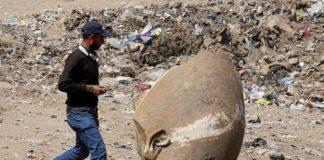пронађена статуа Рамзеса II