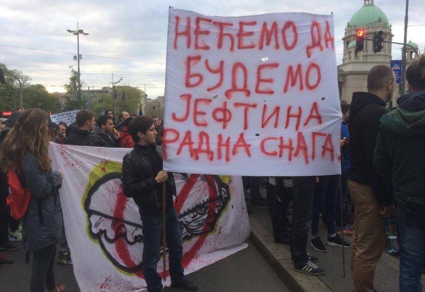 протест против диктатуре