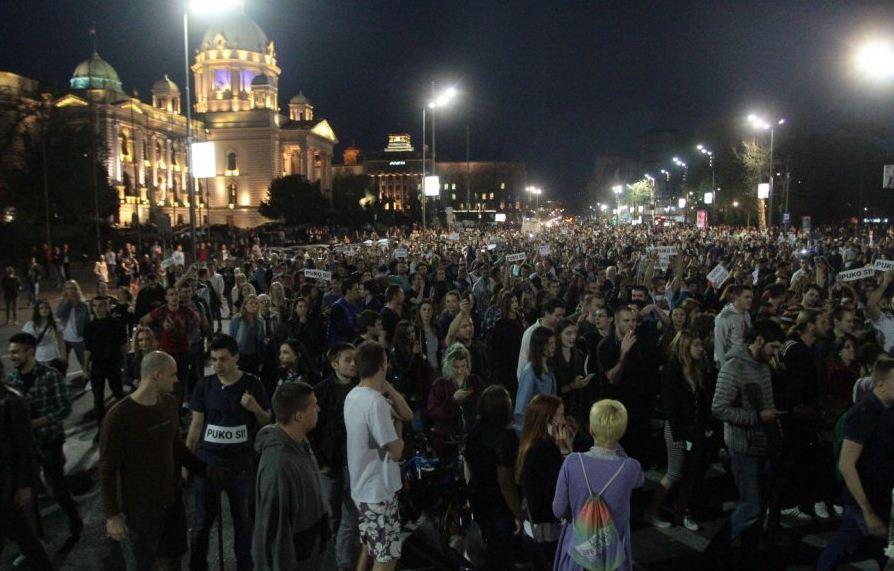 протест 2017