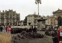 срушене зграде
