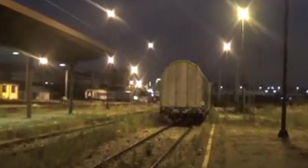 испраћен последњи воз