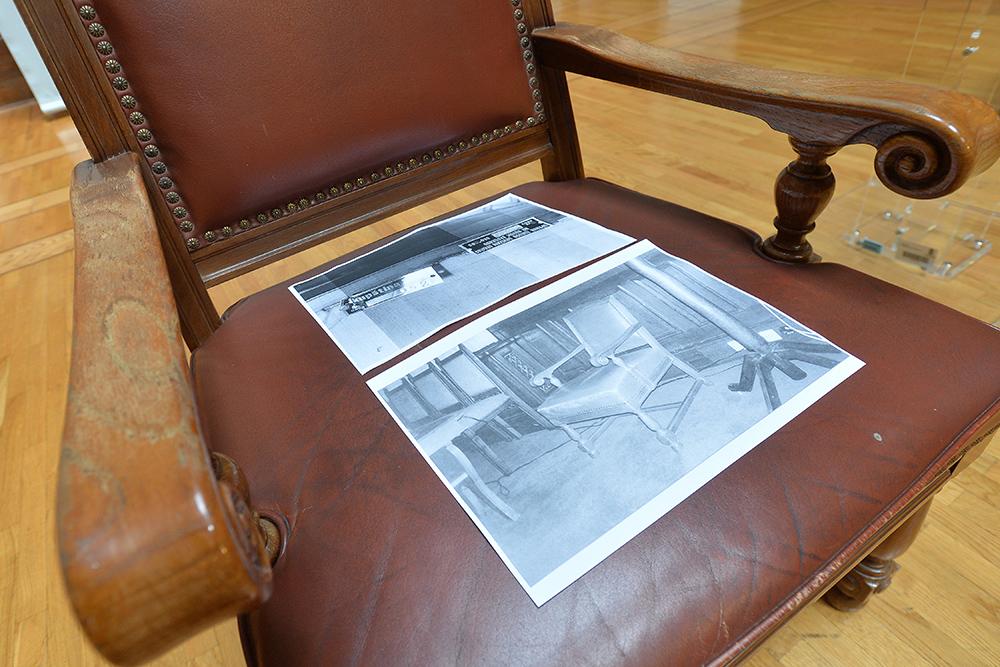 пронађене две фотеље