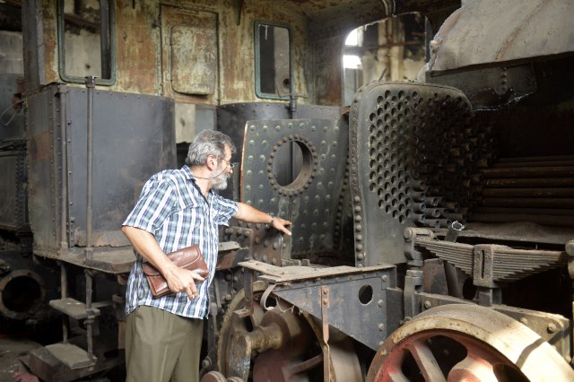 најстарија локомотива