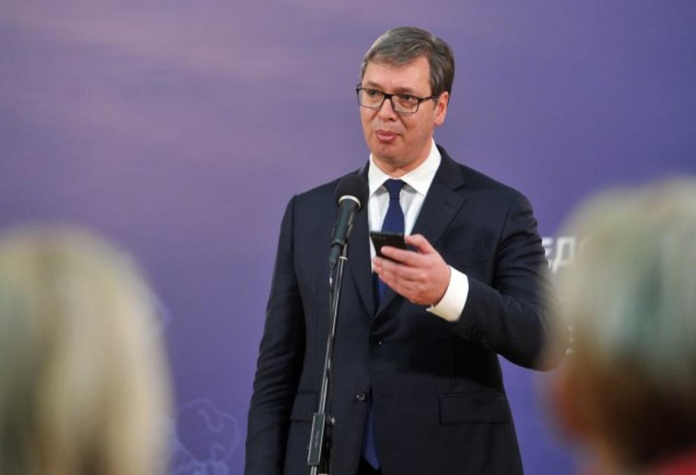 председник србије александар вучић
