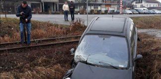 судар воза и аутомобила