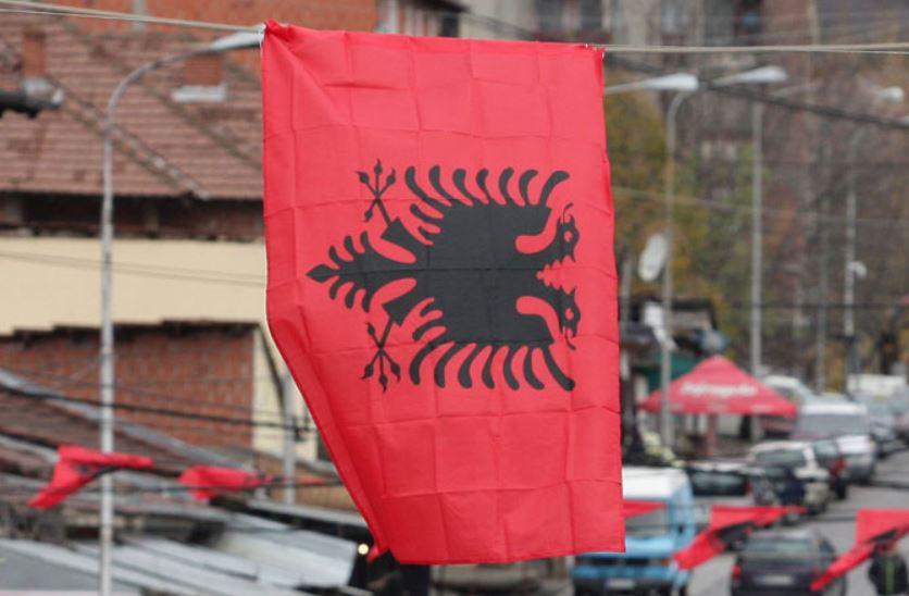 појављивања албанских застава