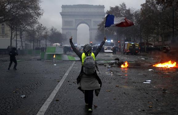 протести жутих прслука