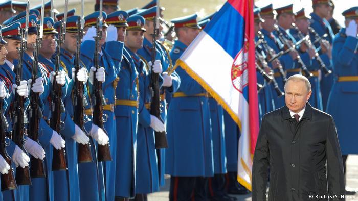 посета владимира путина србији