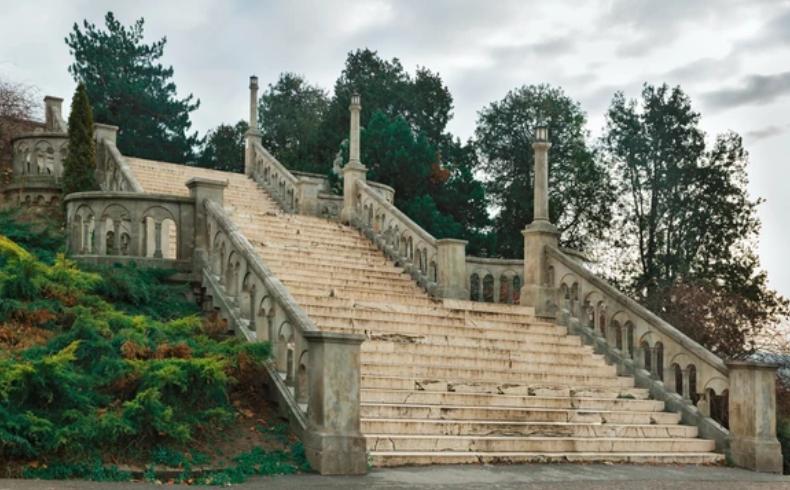санација великог степеништа