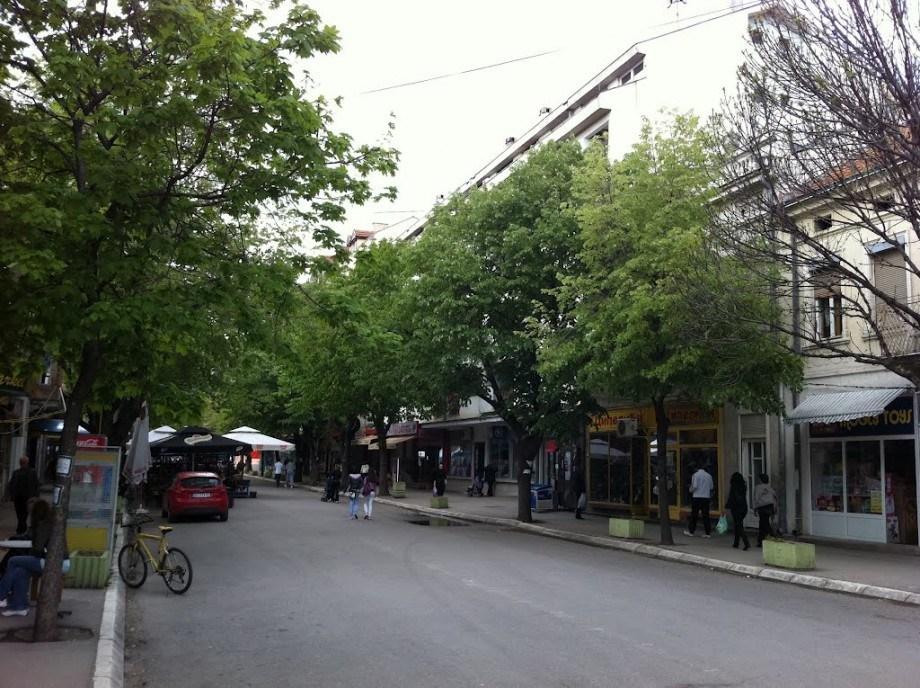 поплочавање центра града