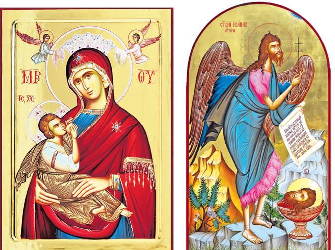 иконе из радионице манастира жиче