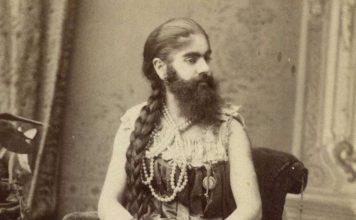 жена с брадом